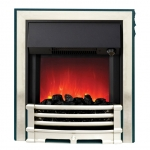 Aspen Inset Electric Fire - Chrome