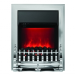 Camberley Inset Electric Fire - Chrome